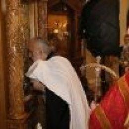 Святейший Патриарх Сербский Ириней совершил Литургию на подворье Русской Православной Церкви в Белграде