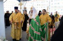 Святейший Патриарх Кирилл совершил закладку храма святых Новомучеников и исповедников Церкви Русской в Норильске