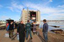 Великоустюжская епархия оказывает помощь в аварийно-восстановительных работах после наводнения