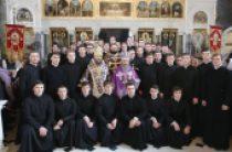 В Крестопоклонную Неделю Блаженнейший митрополит Онуфрий совершил богослужения в Киево-Печерской лавре