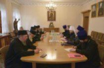 Председатель встретился с членами комиссии Священного Кинота Святой Горы Афон