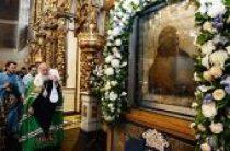 В праздник Донской иконы Божией Матери Святейший Патриарх Кирилл совершил Литургию в Донском монастыре и возглавил хиротонию архимандрита Владимира (Новикова) во епископа Клинцовского и Трубчевского