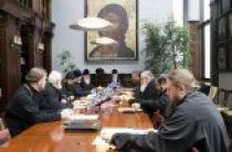 Состоялось очередное заседание комиссии Межсоборного присутствия по вопросам церковного права