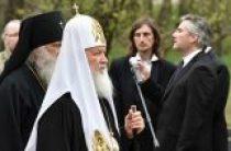 Святейший Патриарх Кирилл принял участие в церемонии перезахоронения великого князя Николая Николаевича Младшего и его супруги