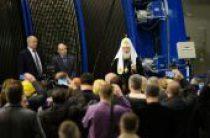Святейший Патриарх Кирилл посетил шахту «Скалистая» Заполярного филиала компании «Норильский никель»
