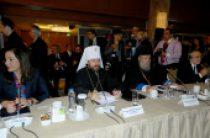 На крупнейшей международной конференции по Ближнему Востоку председатель ОВЦС Московского Патриархата призвал к защите христиан