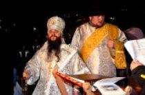 В праздник Крещения Господня епископ Махачкалинский Варлаам совершил чин великого освящения вод Каспия
