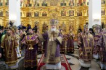 В Неделю 4-ю Великого поста Святейший Патриарх Кирилл совершил освящение храма Иверской иконы Божией Матери в Очаково-Матвеевском г. Москвы