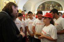 Владимирский собор в Херсонесе посетили дети-сироты из Сирии