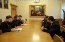 Председатель Отдела внешних церковных связей встретился с послом Саудовской Аравии в России