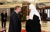 Состоялся прием в честь Святейшего Патриарха Кирилла от имени премьер-министра Республики Беларусь