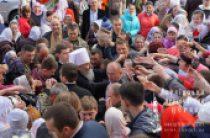 В ходе поездки на Буковину Предстоятель Украинской Православной Церкви совершил Литургию в Банченском монастыре