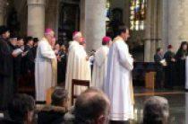 Представители Русской Церкви приняли участие в вечере памяти жертв терактов в Брюсселе