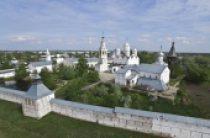 Блаженнейший митрополит Киевский Онуфрий совершил Литургию в Мгарском монастыре Полтавской епархии