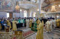 Предстоятель Русской Церкви совершил Литургию в соборе святого равноапостольного князя Владимира в г. Новочебоксарске