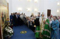 Святейший Патриарх Кирилл освятил Покровский храм в новом микрорайоне города Иваново