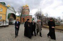 Посол США Джон Теффт посетил Троице-Сергиеву лавру