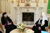 Святейший Патриарх Кирилл встретился с Главой Армянской Католической Церкви