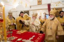 В Минске молитвенно отметили день тезоименитства почетного Патриаршего экзарха всея Беларуси митрополита Филарета