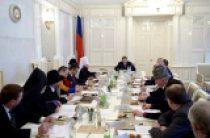 Представители Русской Православной Церкви приняли участие в заседании Совета по взаимодействию с религиозными объединениями при Президенте РФ