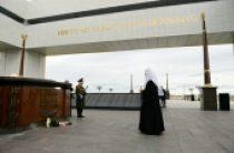 Святейший Патриарх Кирилл посетил Парк Победы в Салехарде
