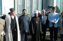 Митрополит Волоколамский Иларион принял участие в церемонии торжественного открытия нового комплекса Московской соборной мечети