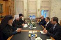 Председатель ОВЦС встретился с министром иностранных дел Ливана