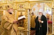 В Минске торжественно отметили 50-летие архиерейской хиротонии митрополита Филарета (Вахромеева)