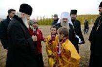 Святейший Патриарх Кирилл встретился с представителями коренных народов Крайнего Севера в фактории Лаборовая